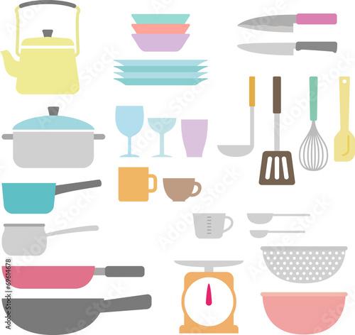 Fotografía  調理器具と食器