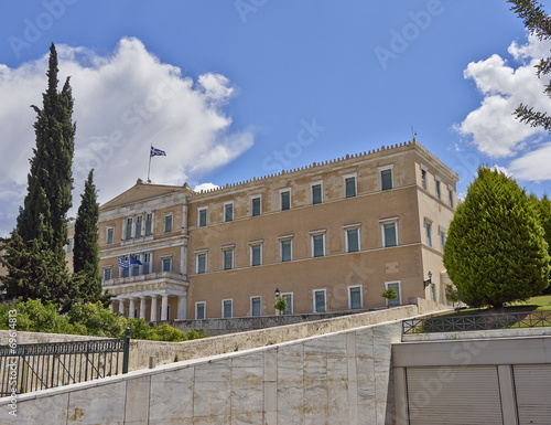Staande foto Athene Athens, the Greek parliament (ex king's palace)