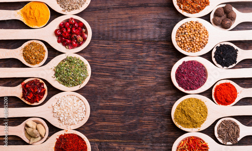 Canvas Prints Spices spices