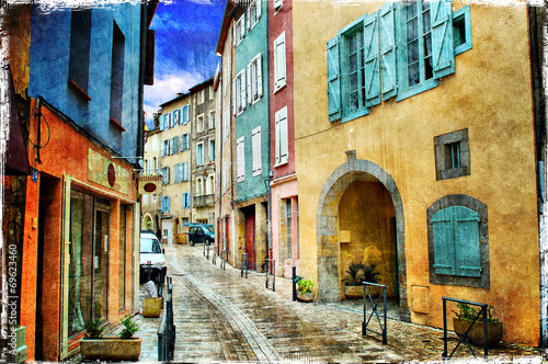 Obraz w ramie Old Town, image 1