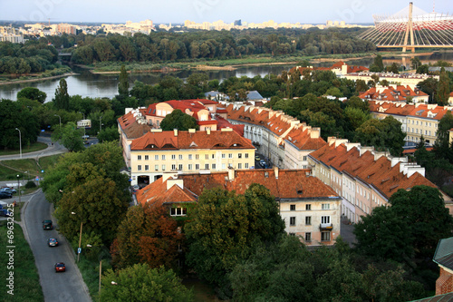 Fototapeta premium Warszawa