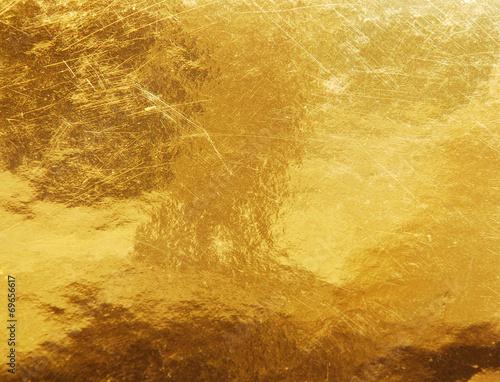 fototapeta na drzwi i meble złota