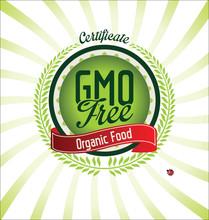 GMO Free Certificate Background