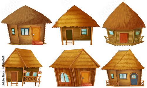 Cuadros en Lienzo Cottage set