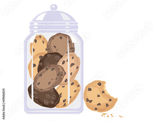 cookie crunch Wallpaper Mural