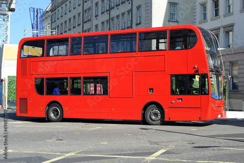 Fotobehang Londen rode bus Red London Bus