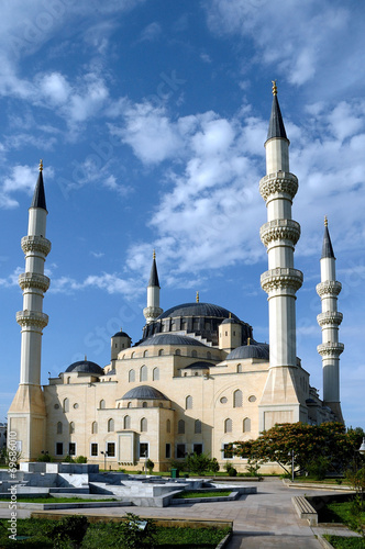 Photo Мечеть в г. Ашхабаде, Туркменистан