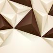 Brown geometric background.
