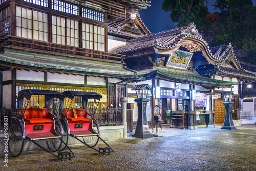 Fotografie, Obraz  Doga Onsen z Matsuyama, Japonsko