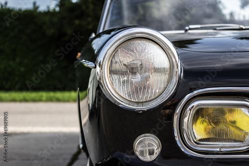 the splendor of the beautiful chrome of vintage cars © mauro1969