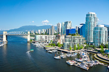 Beautiful View Of Vancouver, B...