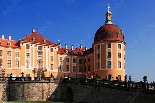 Jagdschloss Moritzburg Canvas Print