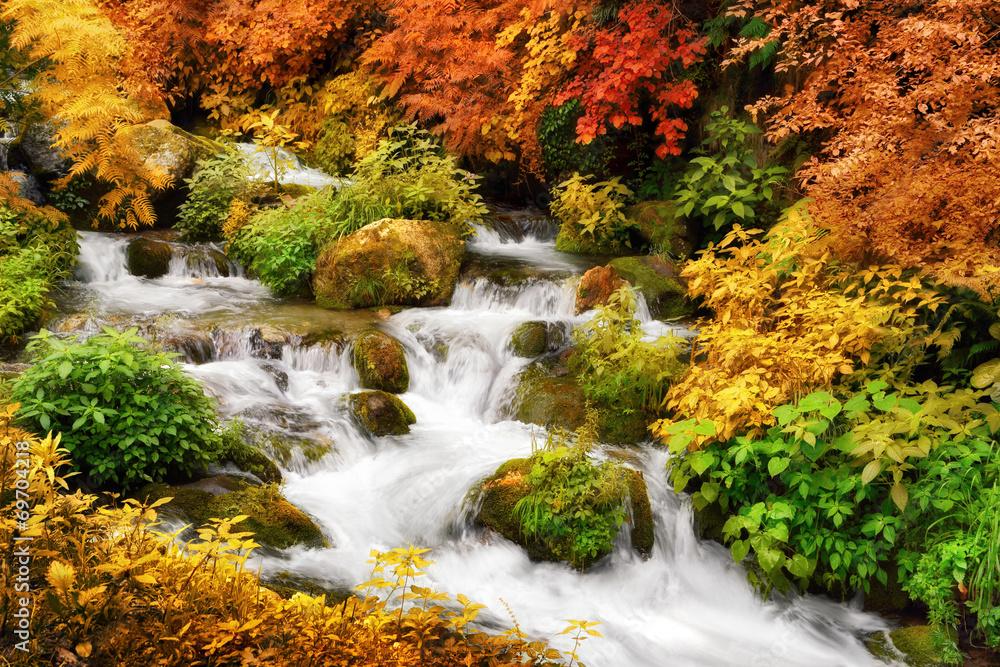 Fototapeta Herbst Paradies