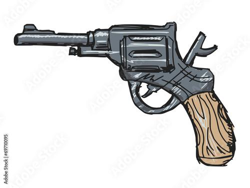 revolver Fototapeta