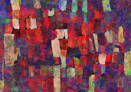 malarska-abstrakcja