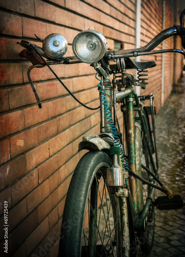 Tuinposter Fiets Vintage bicycle