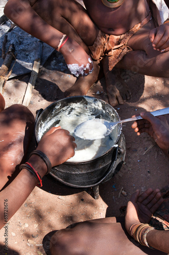Fotografie, Obraz  Pasto Himba Namibia