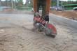 cutting asphalt angle grinder