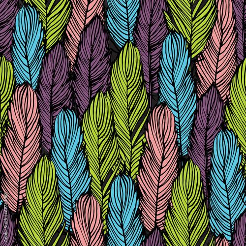 tekstura-z-kolorowymi-piorami