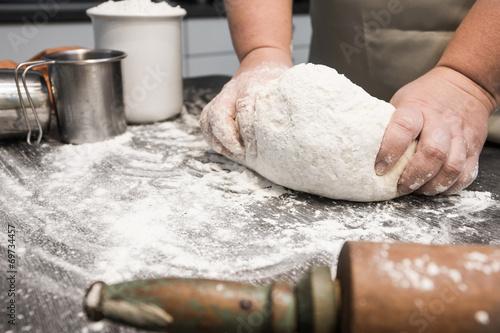 Deurstickers Bakkerij Brot selber backen