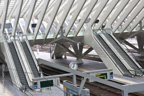 Foto auf AluDibond Bahnhof Bahnhof Liège Guillemins