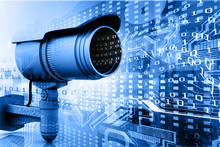 Surveillance Camera With Digit...