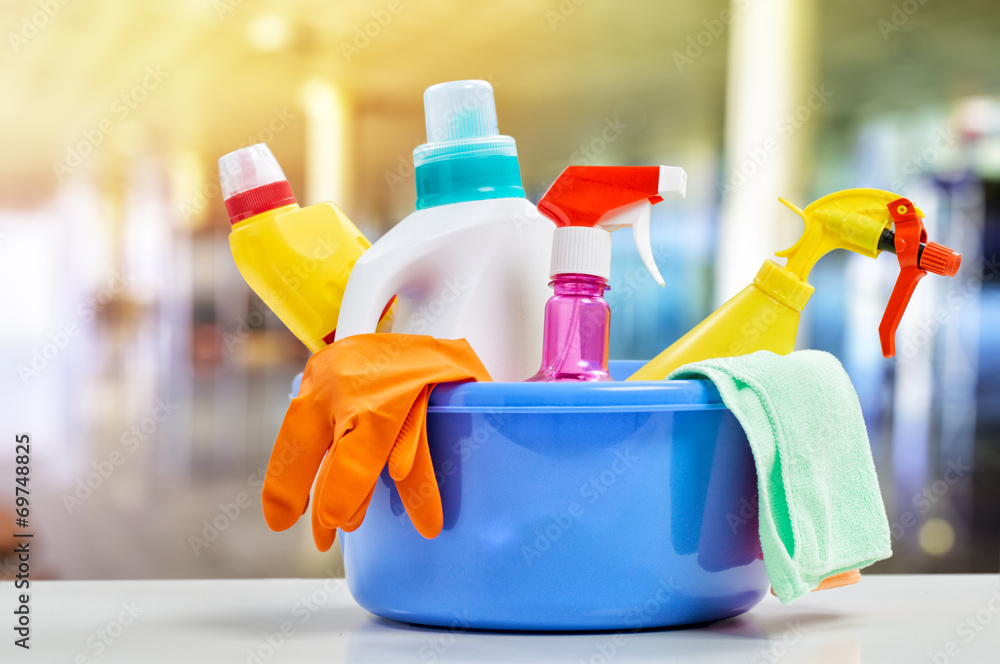 Fototapeta cleaning