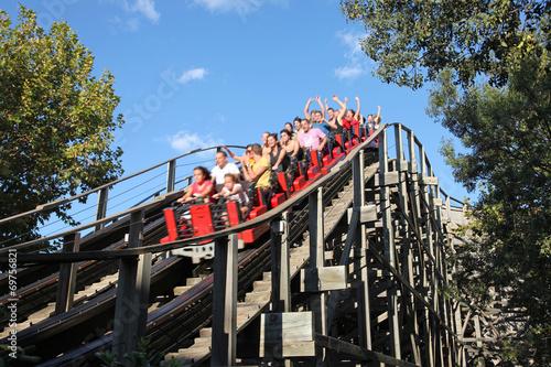 Foto op Canvas Amusementspark parque de atracciones ocio 0451-f14