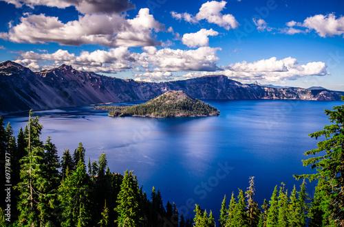 Foto op Plexiglas Landschappen Crater Lake, Oregon