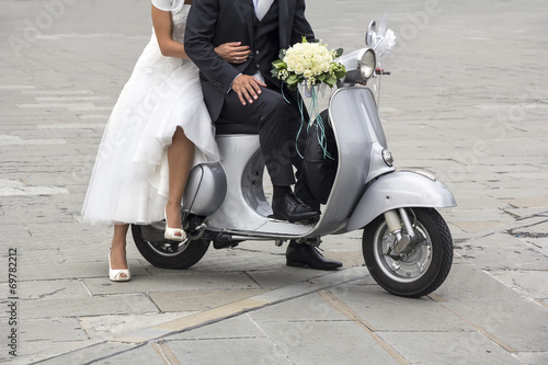 Scooter Young newlywed