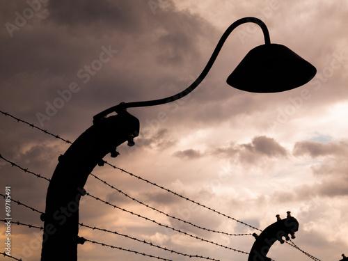 Valokuva  Lamp silhouette