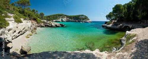Cala Mitjaneta Beach in Menorca, Spain