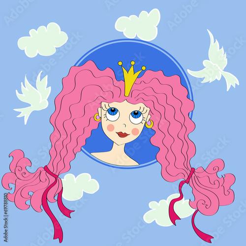 Poster Kasteel princess