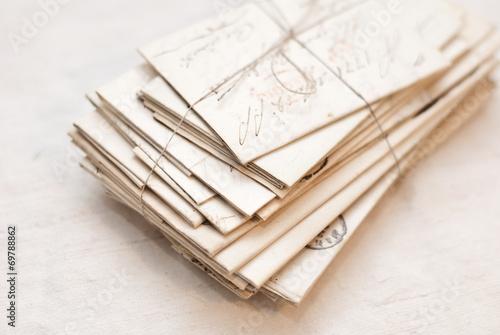 Fotografía  Lettere vecchie