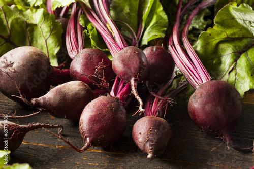 Fotografie, Obraz  Raw Organic Red Beets