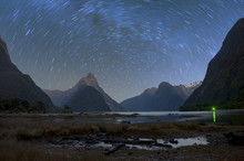 Milford Sound At Night With St...