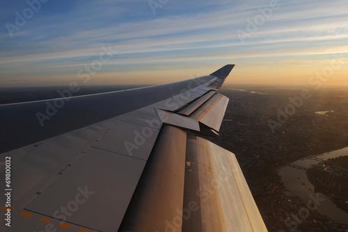Sonnenaufgang über London Fototapete