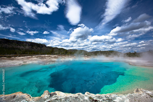 Fotobehang Natuur Park USA - Yellowstone NP