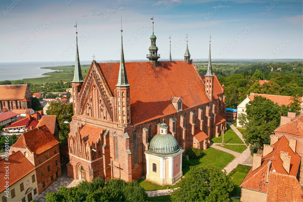 Fototapety, obrazy: Frombork Cathedral,  place of burial Nicolaus Copernicus