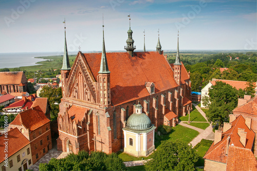 Obraz Frombork Cathedral,  place of burial Nicolaus Copernicus - fototapety do salonu