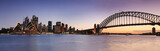 Fototapeta Bridge - Sydney CBD from Kirribilli Set Panor