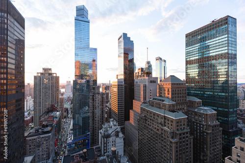 Fotomural New York Hochhäuser