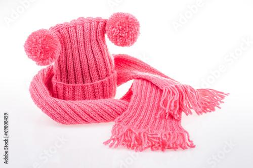 Fotografía  woven hat and scarf