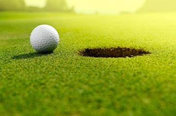 Panel Szklany Podświetlane Golf In the hole