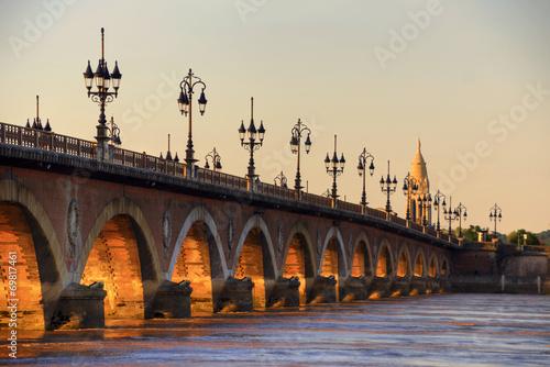 Poster Bridges Pont de Pierre
