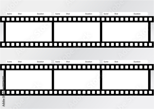 Professional of storyboard film strip template – kaufen Sie diese ...