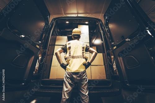 Fotografie, Obraz  Cargo Van Delivery
