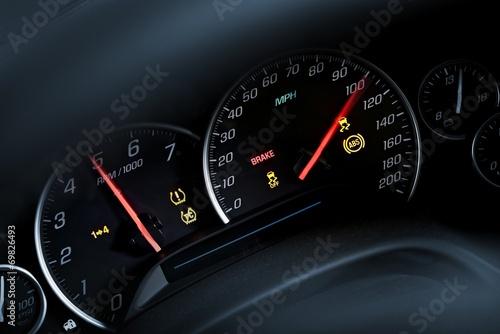Photo  Super Car Tachometer Dash