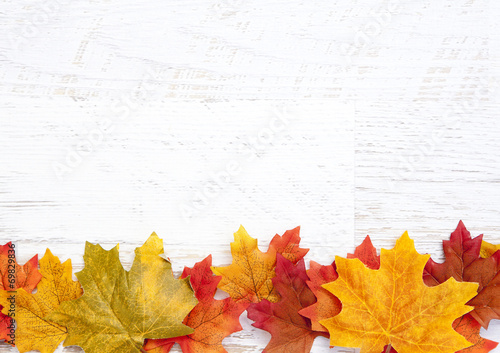 Fotografie, Obraz  Autumn Thanksgiving Background