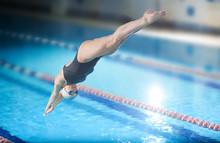 Female Swimmer, That Jumping I...